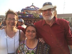 Semana Santa 2014 - Carolina, Duende, and Dolores