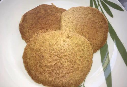 Quick and easy vegan pancakes