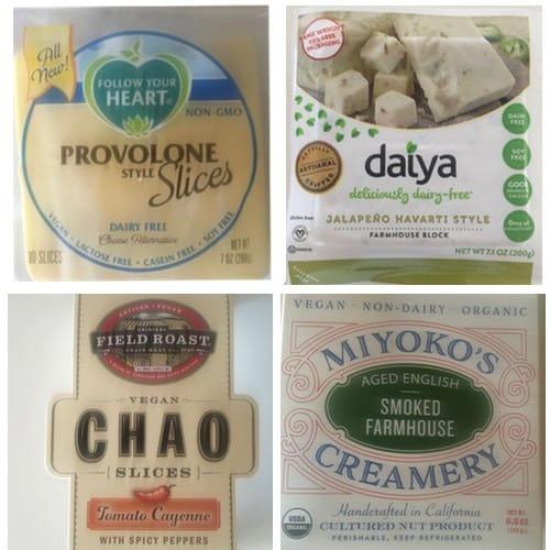 A Vegan Cheese Comparison