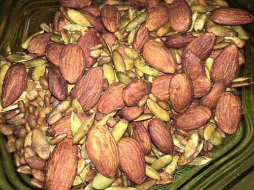 Tamari Roasted Nuts and Seeds