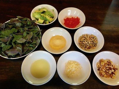 Avocado Pesto ingredient