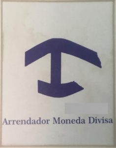Sign identifying a Casa Particular in Cuba