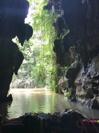 Exiting La Cueva del Indio