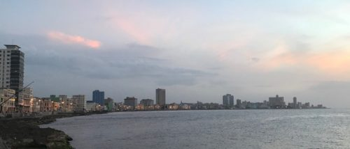 Havana at Sunset