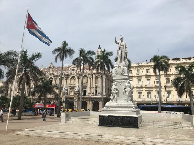 The Parque Central in Havana