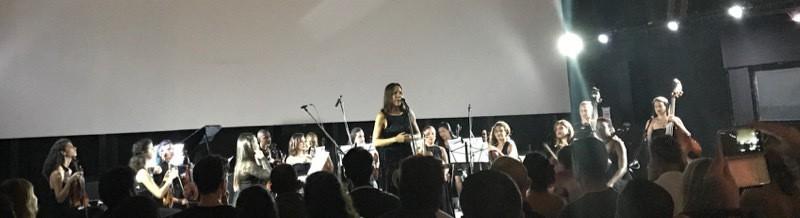 String orchestra at Fabrica de Arte Cubano