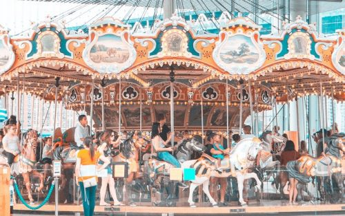 Carousel Photo by James Hose Jr on Unsplash