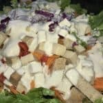 Creamy dressing with sunflower and sesame seeds