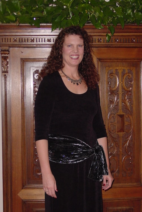 Traci in 2002, at around 175 lbs