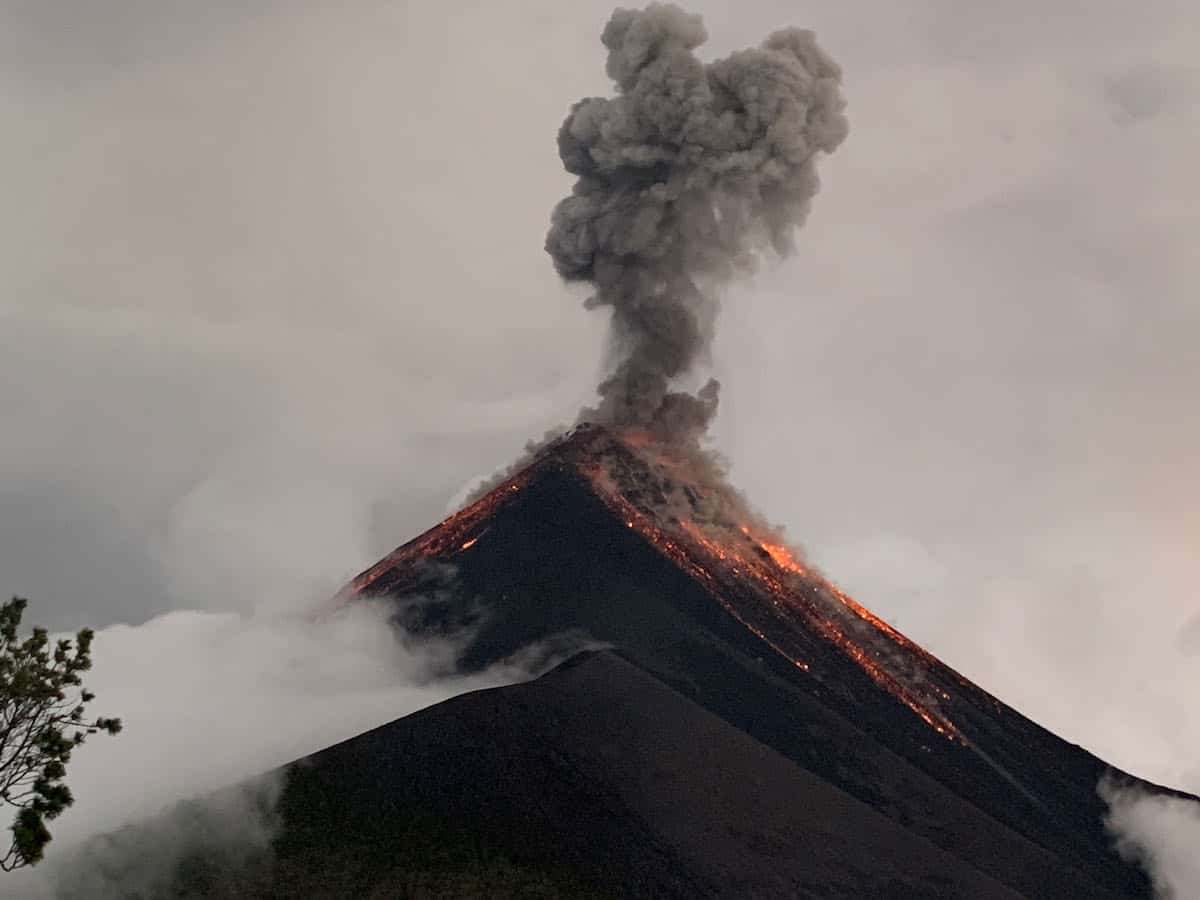 Hiking Acatenango Volcano