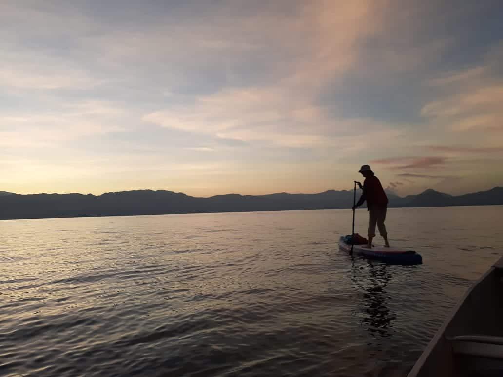 Circumnavigating Lake Atitlán
