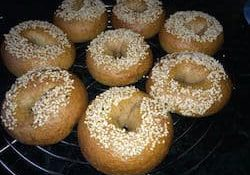 Bagels done 250
