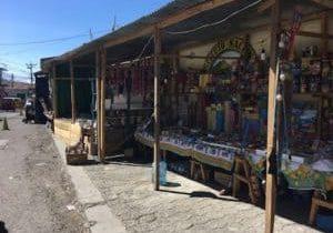 Firecracker stalls in Panajachel