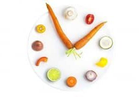 Getty Images - clock shape made fro vegetables